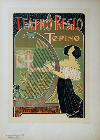 Theatre Royal de Turin Plate 192