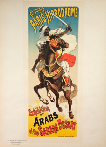 Arabs of the Sahara Plate 177