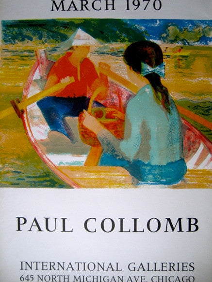 Paul Collomb Exhibition