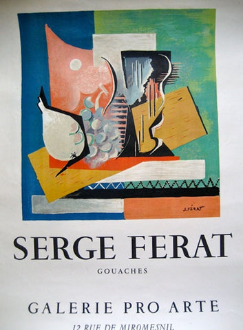 Serge Ferat Exhibition