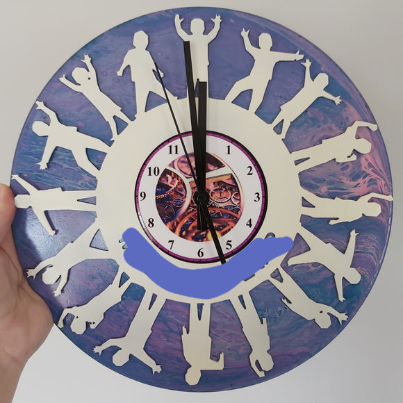 Custom Teachers Clock