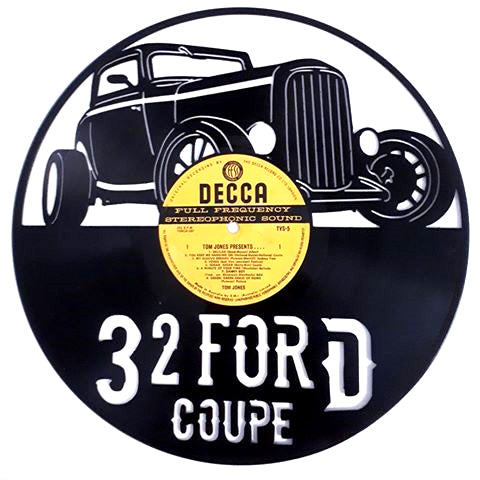 Ford Coupe 1932 Art