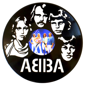 ABBA with Vinyl Sticker