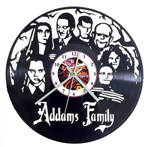 Addams Family Clock