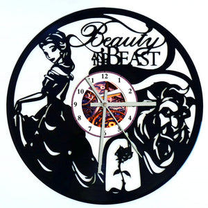 Beauty and the Beast Clock