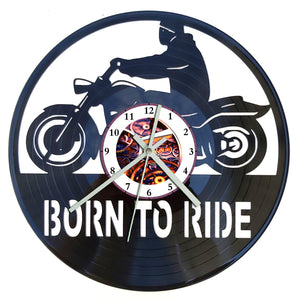 Born to Ride Clock