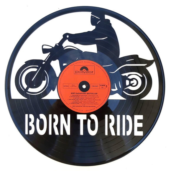 Born to Ride Art