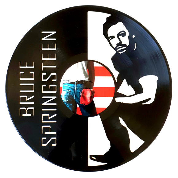Bruce Springsteen with Vinyl Sticker