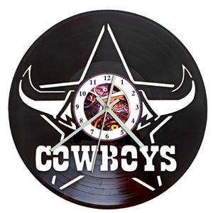 NRL Cowboys Clock