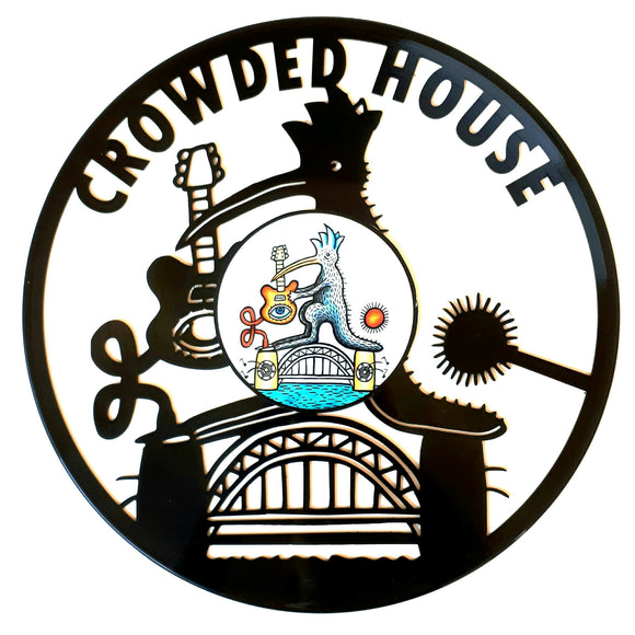Crowded House with Vinyl Sticker