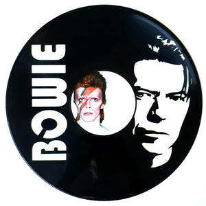 David Bowie with Vinyl Sticker