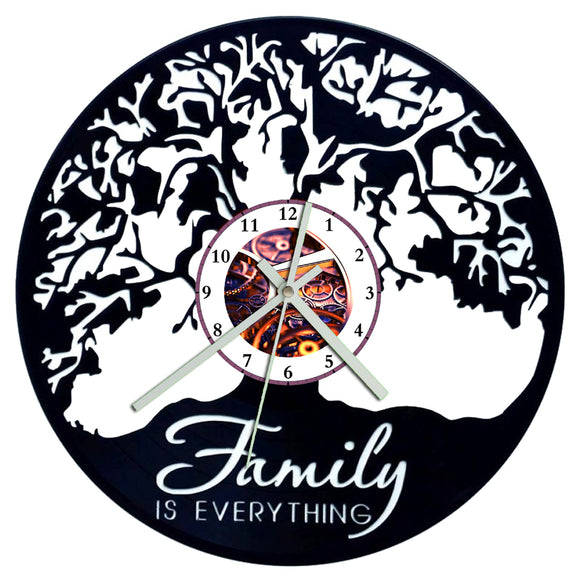 Family is Everything Tree Clock