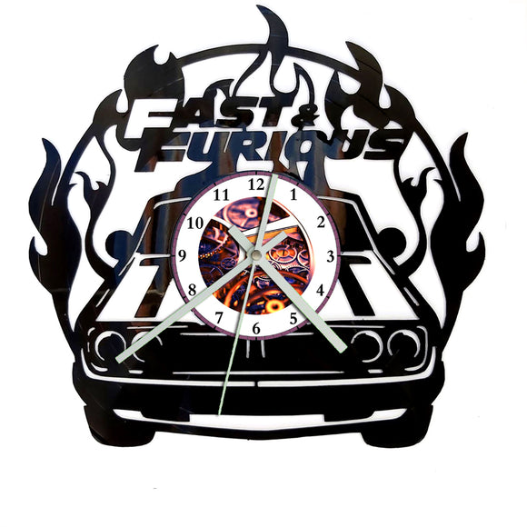 Fast and the Furious Clock