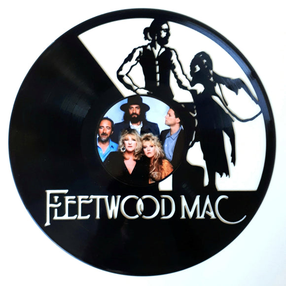 Fleetwood Mac with Vinyl Sticker