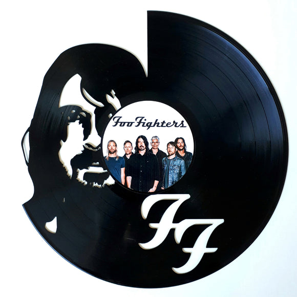 Foo Fighters with Vinyl Sticker