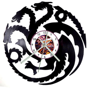 Game of Thrones Dragon Clock