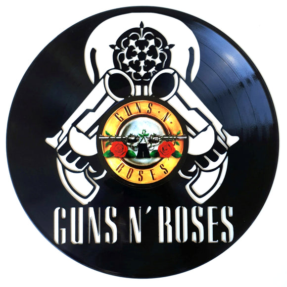 Guns n Roses with Vinyl Sticker