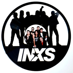 INXS with Vinyl Sticker