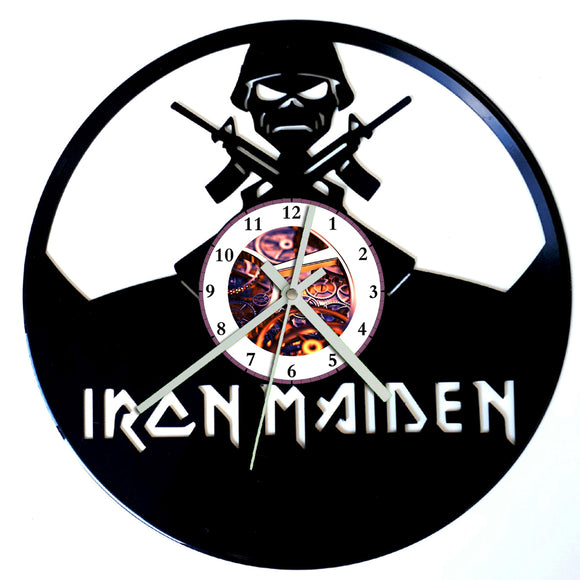 Iron Maiden Clock