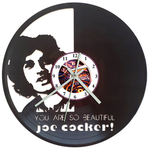 Joe Cocker Clock