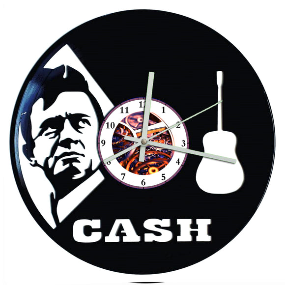 Johnny Cash Clock