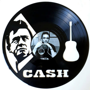 Johnny Cash with Vinyl Sticker