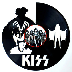 Kiss with Vinyl Sticker