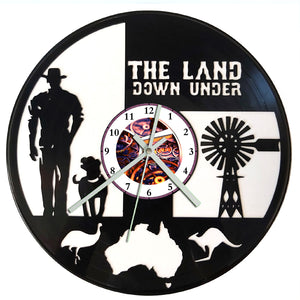 Land Down Under Clock