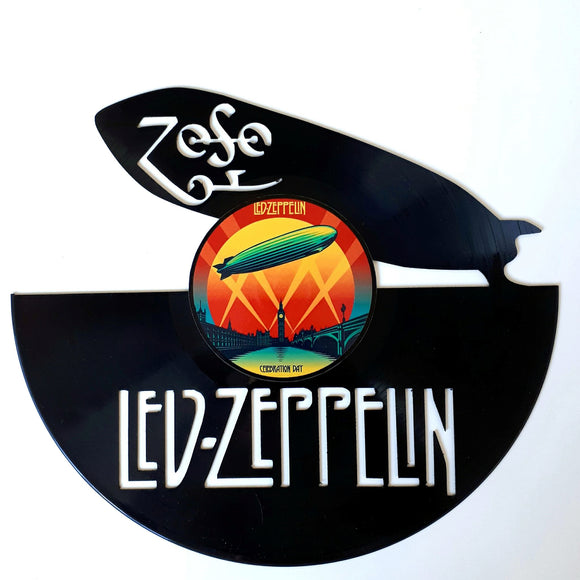 Led Zeppelin with Vinyl Sticker