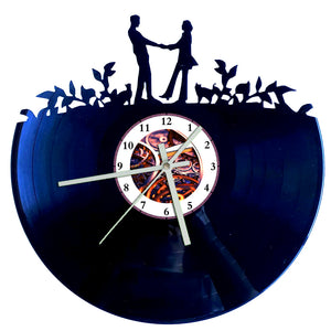 Loving Couple Clock