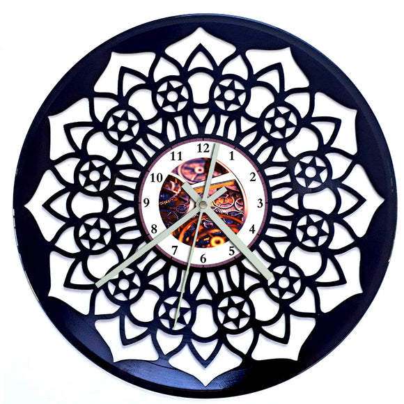 Mandala Peace Clock
