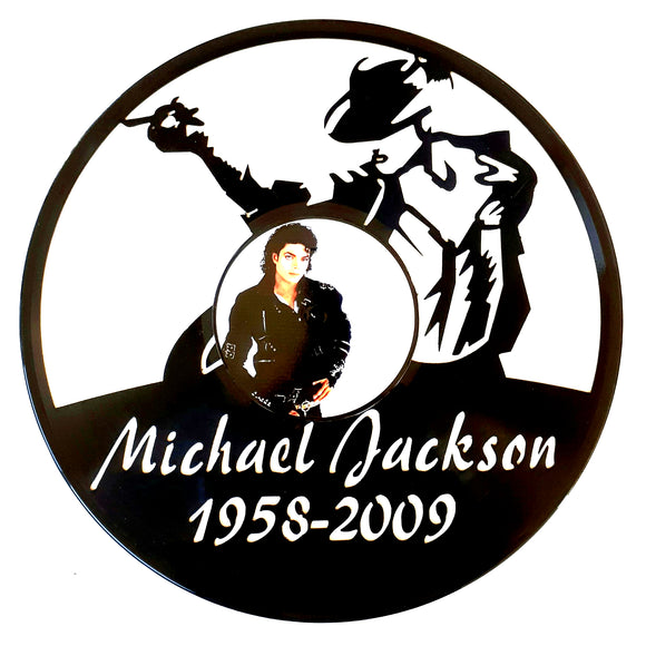 Michael Jackson with Vinyl Sticker
