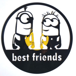 Minions Best Friends Art