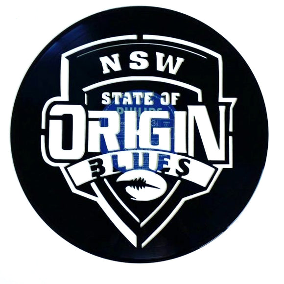 State of Origin NSW Art