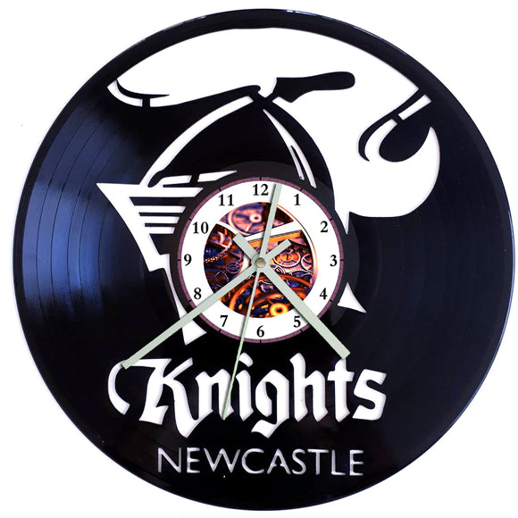 NRL Newcastle Knights Clock