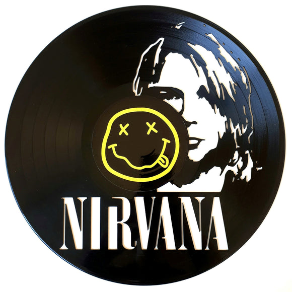 Nirvana Vinyl Sticker