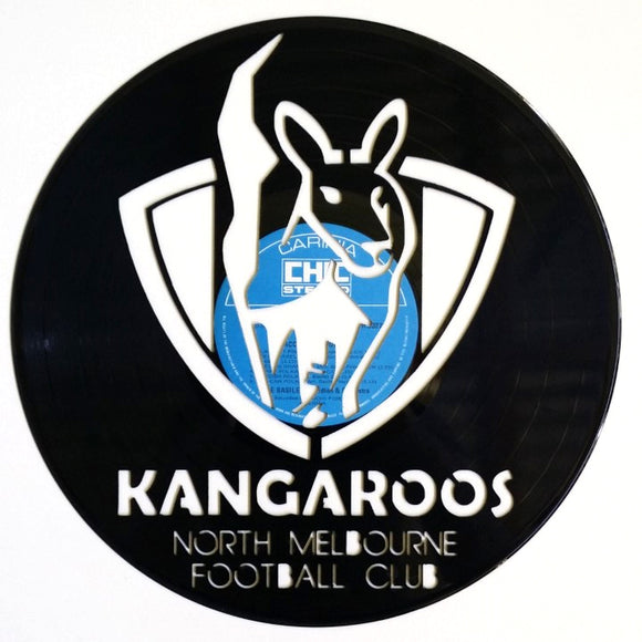 AFL North Melbourne Kangaroos FC Art