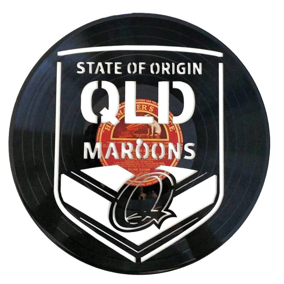 State of Origin QLD Art