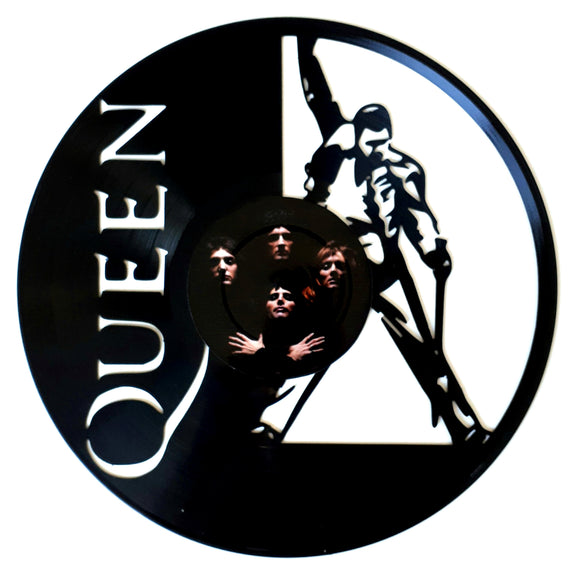 Queen with Vinyl Sticker