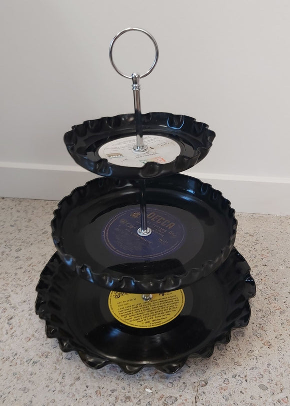 Ripple Cake Stand (3 Tier)