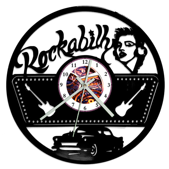 Rockabilly Clock