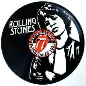 Rolling Stones with Vinyl Sticker