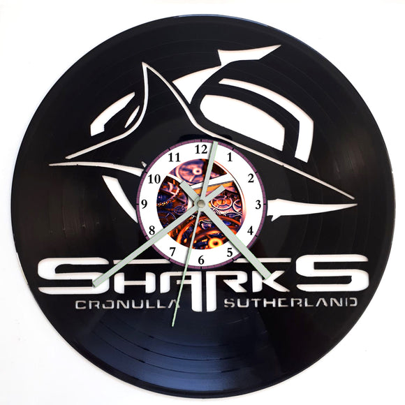 NRL Cronulla Sharks Clock