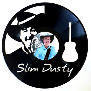Slim Dusty with Vinyl Sticker