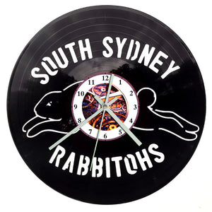 NRL Rabbitohs Clock