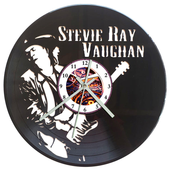 Stevie Ray Vaughan Clock