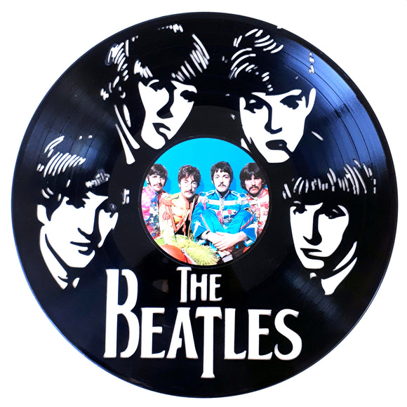 The Beatles with Vinyl Sticker