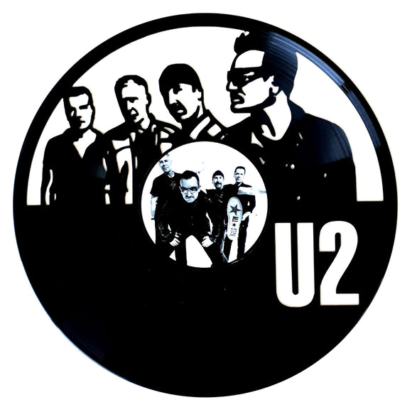 U2 with Vinyl Sticker