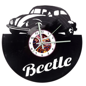 V Dub Beetle Clock
