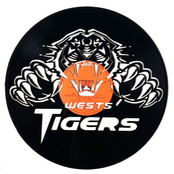 NRL West Tigers Art